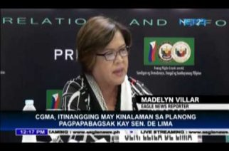 CGMA denies involvement in charges vs De Lima