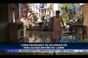 China to donate Php 90 million for victims of super typhoon