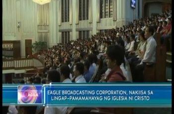 Eagle Broadcasting Corporation, nakiisa sa Lingap-Pamamahayag ng Iglesia Ni Cristo