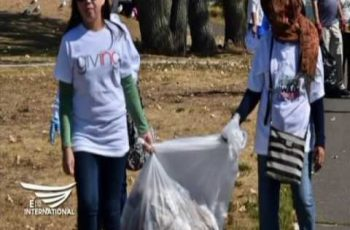 Iglesia Ni Cristo members in New Jersey join coastal clean up