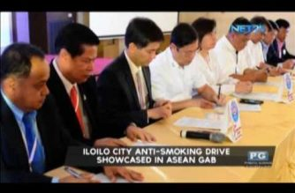 Iloilo City anti-smoking drive showcased in ASEAN GAB