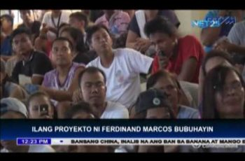 Marcos projects to be revived by Duterte administration