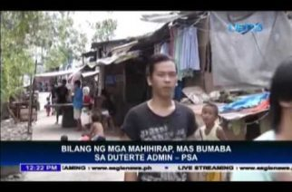 Number of poor Filipinos goes down – PSA study