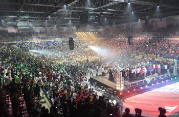 """""""Himig ng Kaligtasan"""" isinagawa ng mga kaanib ng Iglesia Ni Cristo sa Cuneta Astrodome"""