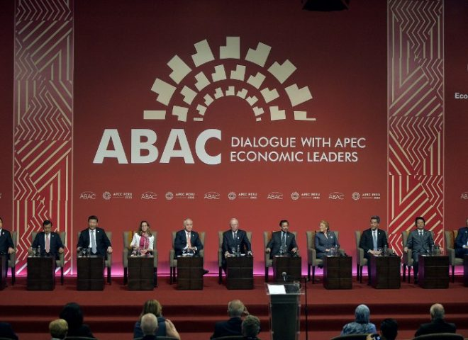News in photo:  ABAC dialogue with APEC Economic Leaders