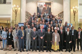 Representatives from ASEAN Member States, the ASEAN Secretariat, the United Nations, research institutes and civil society have come together in Jakarta on November 8 to discuss how to prevent conflict and violent extremism in the ASEAN region.  (Courtesy ASEAN Secretariat)