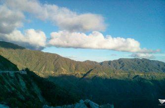 Beautiful scenery in Mountain Province