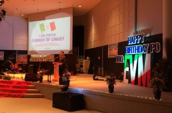 "Edmonton, Canada celebrates ""I am proud to be a member of the Church of Christ"" launch"