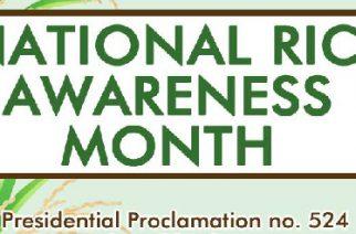 National Rice Awareness Month