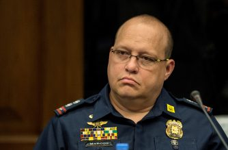Criminal Investigation and Detection Group (CIDG) Superintendent Marvin Marcos, attends the Senate drug hearing at the Senate building in Manila on November 23, 2016.  Kerwin was arrested in the United Arab Emirates last month and will face drug trafficking charges.  / AFP PHOTO / NOEL CELIS