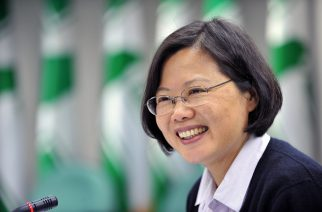 """(FILES) This file photo taken on December 8, 2009 shows  Taiwan's main opposition Democratic Progressive Party (DPP) chairwoman Tsai Ing-wen speaking during a press conference in Taipei. Taiwan will not bend to pressure despite China returning to its """"old ways"""" of intimidation, President Tsai Ing-wen said on December 31, 2016, following protests from Beijing over her call to US President-elect Donald Trump. / AFP PHOTO / SAM YEH"""