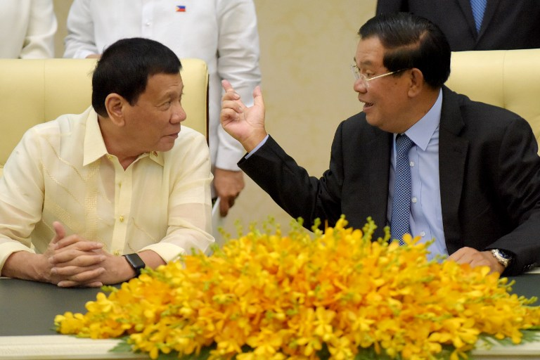 Philippines Cambodia Sign Bilateral Agreements During Duterte State