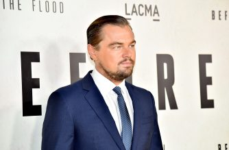 "LOS ANGELES, CA - OCTOBER 24: Executive producer Leonardo DiCaprio attends the screening of National Geographic Channel's ""Before The Flood"" at Bing Theater At LACMA on October 24, 2016 in Los Angeles, California.   Mike Windle/Getty Images/AFP"