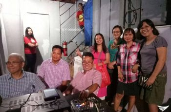 Brethren from the locale congregation of Pasong Tamo, Central celebrate year-end get together