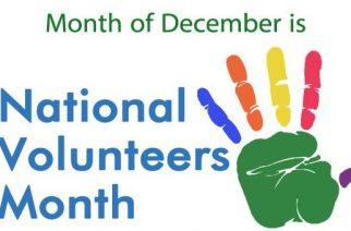 National Volunteers Month
