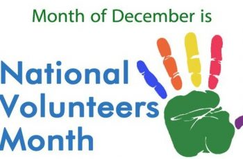 National Volunteers Month