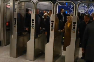 After nearly 100 years, New York set to open part of a new subway line along the east side of Manhattan.(photo grabbed from Reuters video)
