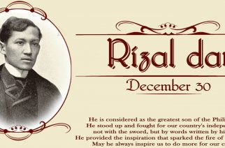Rizal Day Infographics