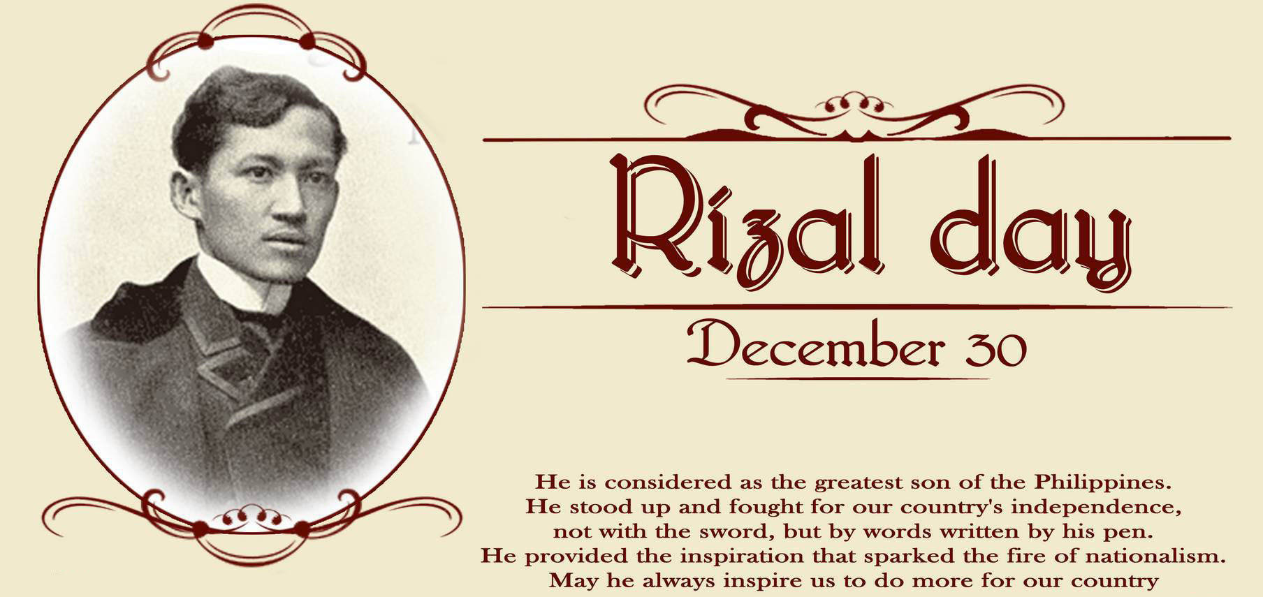 analysis of to the filipino youth jose rizal Read the poem critically 2 appreciate the essence of being a filipino 3 perform a  role play to  subject matter: a topic: • to the filipino youth by dr jose rizal.