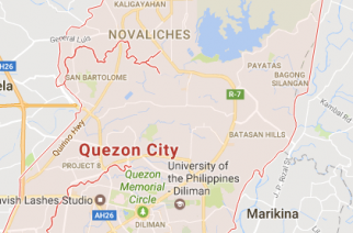 Quezon City view from Google Maps