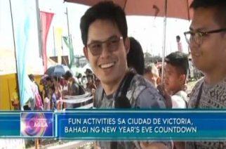 Fun activities sa Ciudad de Victoria, bahagi ng New Year's Eve countdown