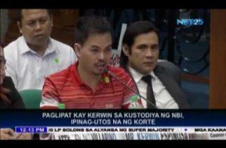 Leyte Court orders Kerwin Espinosa's transfer to NBI custody