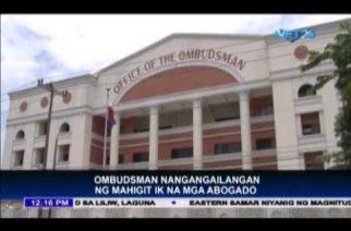 "Ombudsman needs 2,100 ""honest lawyers"""