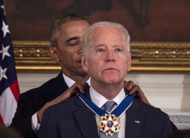 Obama surprises Biden with top civilian honor