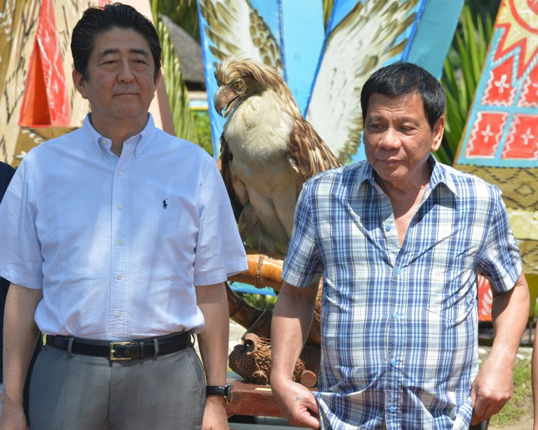 Japan phl friendship strengthened as abe caps phl visit - Bank of the philippine islands head office ...