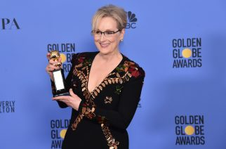 BEVERLY HILLS, CA - JANUARY 08: Meryl Streep poses in the press room during the 74th Annual Golden Globe Awards at The Beverly Hilton Hotel on January 8, 2017 in Beverly Hills, California.   Alberto E. Rodriguez/Getty Images/AFP
