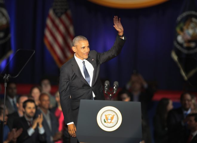 News in Photos: President Obama bids farewell speech in Chicago, Illinois