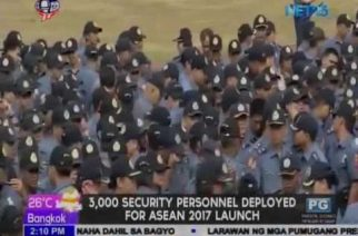 3,000 personnel deployed for ASEAN 2017 launch