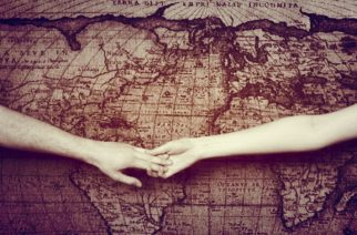 Distance means so little when someone means so much. Photo is courtesy of Pinterest.