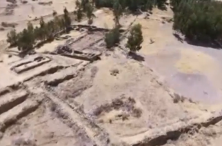 Researchers in Peru say a newly uncovered Inca pyramid in central Peru could show the area carried more weight in Incan society than previously thought. (Photo grabbed from Reuters video)