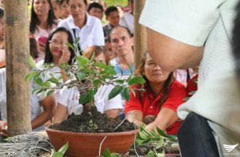 """""""Bonsai Making"""" seminar, isinagawa ng Iglesia Ni Cristo sa Real, Quezon"""