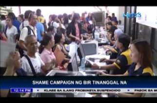 """BIR puts a stop on its """"shame campaign"""""""