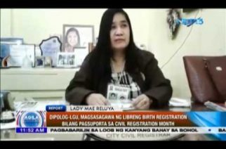 Dipolog-LGU, magsasagawa ng libreng birth registration bilang pagsuporta sa Civil Registration Month