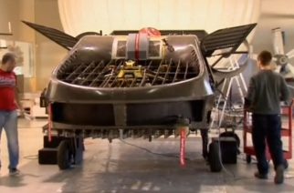 An autonomous aircraft the size of a car could revolutionise aviation by flying in areas currently inaccessible to aircraft, according to its Israeli developers.  (Photo grabbed from Reuters video)