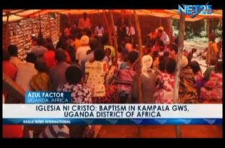 Iglesia Ni Cristo: Baptism in Kampala GWS, Uganda District of Africa