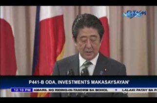 "Japan offer of largest 1Trillion-Yen ODA package, ""historic,"" says PHL economic team"