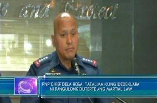 PNP Chief: Pagdedeklara ng martial law hindi basta-basta