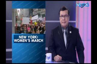 Post inauguration women's march #WMNYC