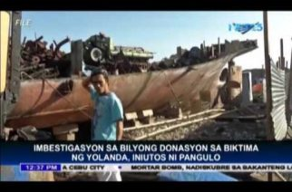 President Duterte orders DOJ to investigate multi-million peso Yolanda fund
