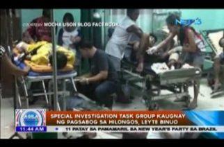 Special investigation task group kaugnay ng pagsabog sa Hilongos, Leyte binuo