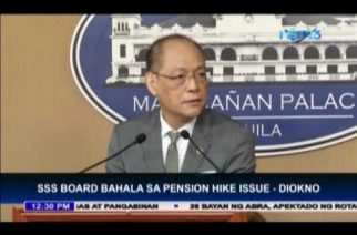 SSS could support promised pension hike if contributions would be raised – Diokno