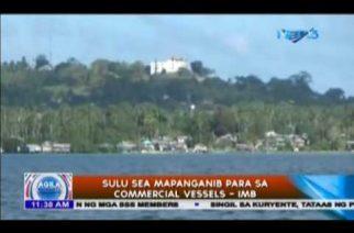 Sulu Sea mapanganib para sa commercial vessels – IMB