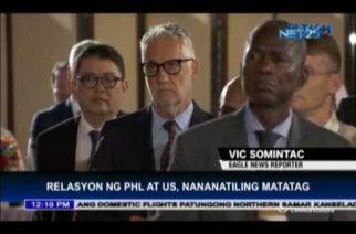 US-Philippine relations remain strong