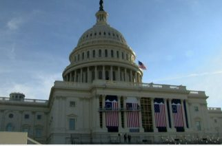 With the inauguration of President-elect Donald Trump just days way, a rehearsal was held Sunday (January, 15) at the U.S. Capitol in Washington, D.C..