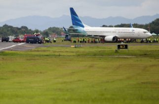 Indonesian plane skids off runway in new aviation mishap