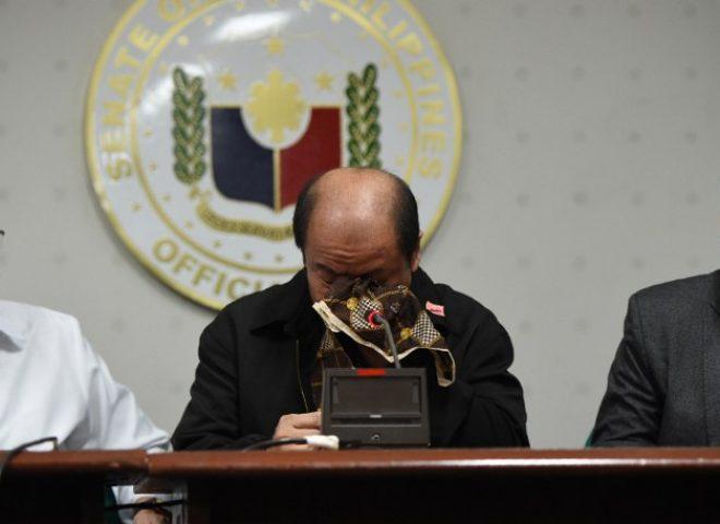 News in photo:  Lascanas at the Senate